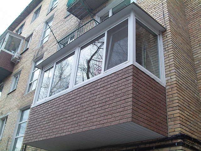 Остекление пвх балконов и лоджий от компании астрой, тула.
